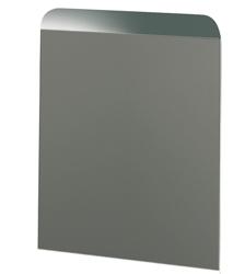Rückwand, Edelstahl, 450x400 mm