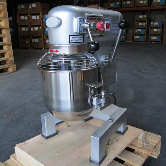 Planetenrührmaschine 10 Liter mit 3 Geschwindigkeiten - 230V/1F - SHOW ROOM
