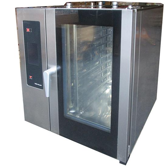 Gas-Kombidämpfer mit Boiler und automatischem Reinigungssystem, 10x GN 1/1 - GEBRAUCHT