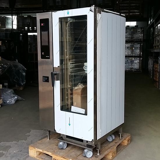 Elektro-Kombidämpfer mit Boiler und automatischem Reinigungssystem, 20x GN 1/1 - GEBRAUCHT