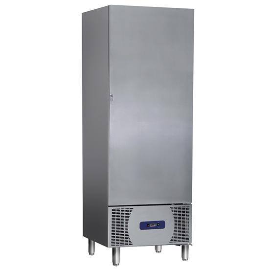 Tiefkühlschrank 550 Liter aus Edelstahl, -10°/-20°C