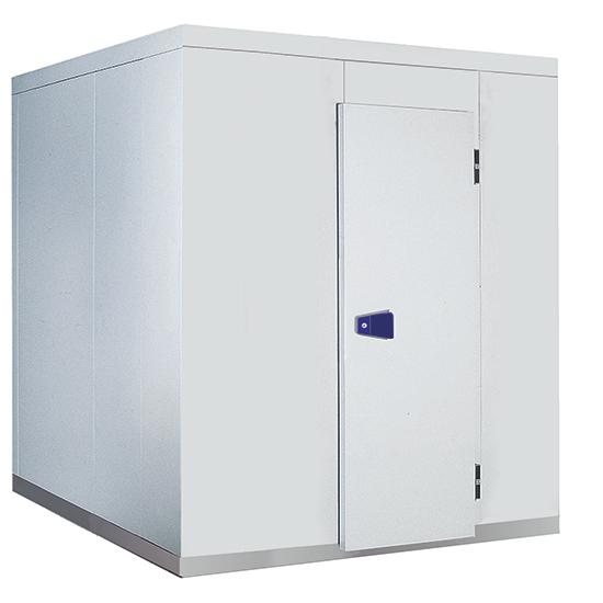 Kühlzelle, Isolierung 80 mm, H=2200 mm, 2590x2590 mm