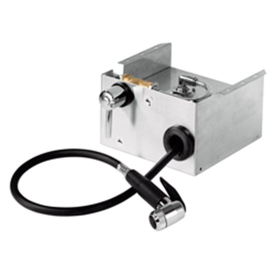 Aufrollautomatikbrause für Öfen, L=1700 mm