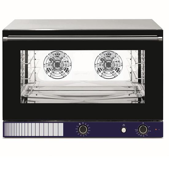 Elektro-Konvektionsofen mit Befeuchter, Inverter, mechanische Bedienung, 4x 60x40 oder GN 1/1