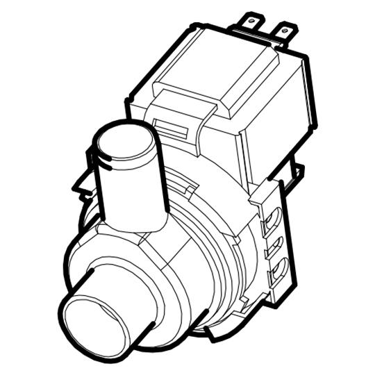 Ablaufpumpe für OPT1012/CFN
